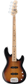 G&L TRIBUTE SERIES  JB-2  3-Tone Sunburst  4-String Electric Bass  Guitar