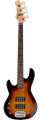 G&L TRIBUTE SERIES L-2000  3-Tone Sunburst Left Handed 4-String Electric Bass 2019