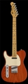G&L TRIBUTE SERIES ASAT  Classic  Clear Orange Left Handed 6-String Electric Guitar