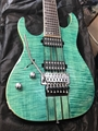 Schecter DIAMOND SERIES DCGL EXCLUSIVE Banshee Elite-7FR Trans Turquoise    Left Handed 7-String Electric Guitar
