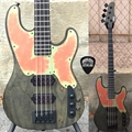 Schecter    DIAMOND SERIES DCGL EXCLUSIVE Model-T Apocalypse  Rusty Grey  4-String Electric Bass Guitar