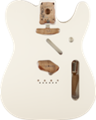 Fender    Telecaster SS Alder  Vintage Bridge Mount, Olympic White     Guitar body