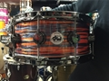 "USED DW Collectors  10+6 Maple 6x14""  Tiger Oyster FP Snare Drum"