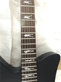 USED Schecter DIAMOND SERIES  Tommy Lee Baritone  Black Satin 6-String Electric Guitar