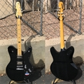 Schecter DIAMOND SERIES PROTOTYPE Robert Smith UltraCure Gloss Black/Maple board  6-String Electric Guitar