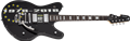 Schecter    DIAMOND SERIES Robert Smith UltraCure 40th Anniversary  Black  6-String Electric Guitar 2018