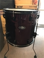 "USED Pearl Export 16x16"" Wine Red W/ Black Hardware Floor Tom"