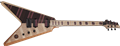 Schecter USA CUSTOM SHOP Masterworks V-1 Custom Natural Satin NAMM 6-String Electric Guitar