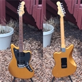 G&L  CLF Research USA Doheny V12 Pharaoh Gold Caribbean Rosewood 6-String Electric Guitar 2018