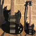 ESP ORIGINAL SERIES Viper Black 4-String Electric Bass Guitar
