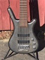 WARWICK German Pro Series Corvette 6 Nirvana Black 6-String Electric Bass Guitar