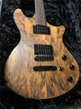 Schecter USA CUSTOM SHOP MASTERWORKS Tempest Exotic English Walnut Top   2013 6-String Electric Guitar