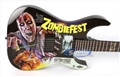 LTD Limited Edition Art Guitars Zombiefest Graphic 6-String Electric Guitar