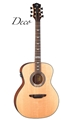 Luna  Art Deco 6-String Acoustic Electric Guitar