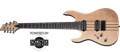 Schecter    DIAMOND SERIES BANSHEE ELITE-7 Gloss Natural  Left Handed 7-String Electric Guitar
