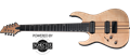 Schecter    DIAMOND SERIES BANSHEE ELITE-8 Gloss Natural  Left Handed 8-String Electric Guitar