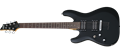 Schecter DIAMOND SERIES    C-6 Deluxe Satin Black     Left Handed 6-String Electric Guitar