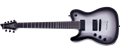 Schecter DIAMOND SERIES Chris Garza-7 PT  Silver Burst   Left Handed 7-String Electric Guitar
