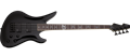 USED Schecter DIAMOND SERIES Dale Stewart/Seether Avenger Bass Black     4-String Electric Bass Guitar