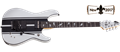 Schecter DIAMOND SERIES Artist Model Dj ASHBA FR/S Satin White 6-String Electric Guitar