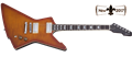Schecter    DIAMOND SERIES  E-1 Standard Honey Sunburst   6-String Electric Guitar
