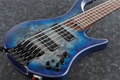 Ibanez  EHB1505 Pacific Blue Burst Flat 5-String Electric Bass Guitar 2020