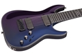 Schecter    DIAMOND SERIES HELLRAISER HYBRID C-8 Ultra Violet   8-String Electric Guitar