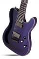 Schecter DIAMOND SERIES HELLRAISER HYBRID PT-7 Ultra Violet 7-String Electric Guitar