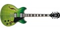 IBANEZ AS73FM GVG Green Valley Gradation 6-String Electric Guitar 2019