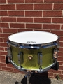 "Ludwig USA Maple Classic Series (6 1/2"" x 14"") Snare Drum - Olive Sparkle Wrap"