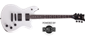 Schecter DIAMOND SERIES SIGNATURE SERIES JERRY HORTON TEMPEST  Satin White 6-String Electric   Guitar