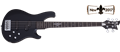 Schecter    DIAMOND SERIES Johnny Christ-5  Satin Black 5-String Electric Bass Guitar