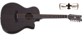 Schecter    DIAMOND SERIES  Orleans Studio-12  12-String Acoustic  Electric Guitar