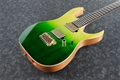 IBANEZ   Signature Series LHM1 Transparent Green Gradation  6-String Electric Guitar 2019