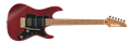 IBANEZ Signature Series SLM10  Transparent Red Matte 6-String Electric Guitar 2019