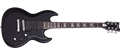 Schecter DIAMOND SERIES S-II Platinum Satin Black 6-String Electric Guitar