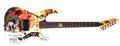 LTD Limited Edition Art Guitars The Predator Graphic 6-String Electric Guitar