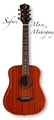 Luna Safari Muse Mahogany 3/4 size Travel   6-String Acoustic  Guitar