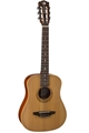 Luna Safari   Nylon   3/4 size body Travel Nylon String Guitar w/ gig bag