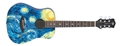 Luna Safari Starry Night   Travel Guitar w/ gig bag