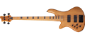 Schecter DIAMOND SERIES Stiletto Session-4 Aged Satin Natural   Left Handed 4-String Electric Bass Guitar