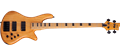 Schecter DIAMOND SERIES  Session Stiletto-4 Aged Natural Satin    4-String Electric Bass Guitar