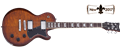 Schecter    DIAMOND SERIES  Solo-II Standard Faded Vintage Sunburst  6-String Electric Guitar