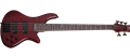 Schecter DIAMOND SERIES Stiletto Custom-5    Vampyre Red Satin     5-String Electric Bass Guitar