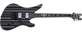 Schecter DIAMOND SERIES Synyster Custom  Black w/Silver  6-String Electric Guitar