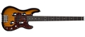 Traveler TB-4P Sunburst  4-String Electric Bass Guitar