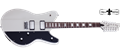 Schecter DIAMOND SERIES  Robert Smith Ultracure Vintage White  12-String Electric Guitar