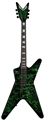 Dean USA Custom Shop ML Airbrush Green 6-String Electric Guitar