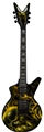 Dean USA Custom Shop Cadi with Floyd  Airbrush  6-String Electric Guitar