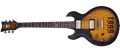 Schecter    DIAMOND SERIES  Zacky Vengeance ZV 6661  Aged Natural Satin Black Burst   Left Handed 6-String Electric Guitar